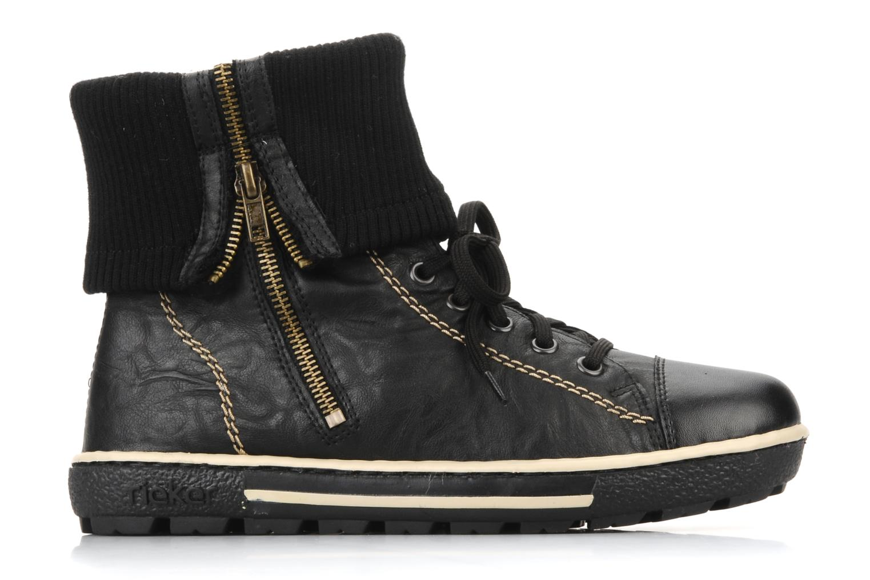 Sneakers Rieker Hulla Z8760 Zwart achterkant