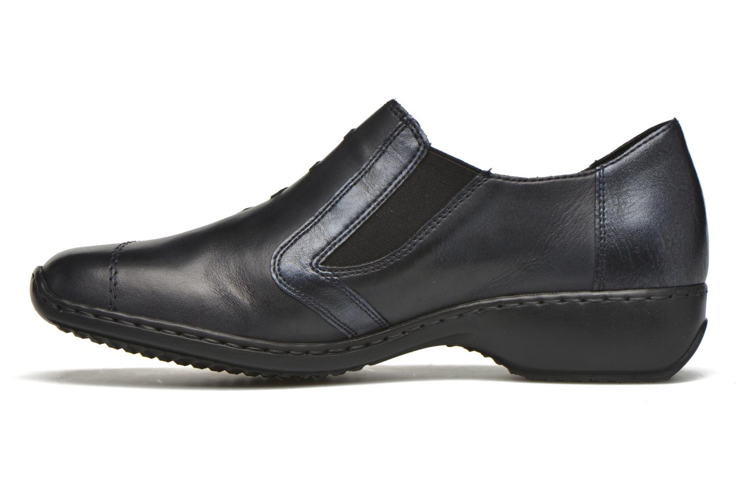 Loafers Rieker Doro L3874 Blue front view
