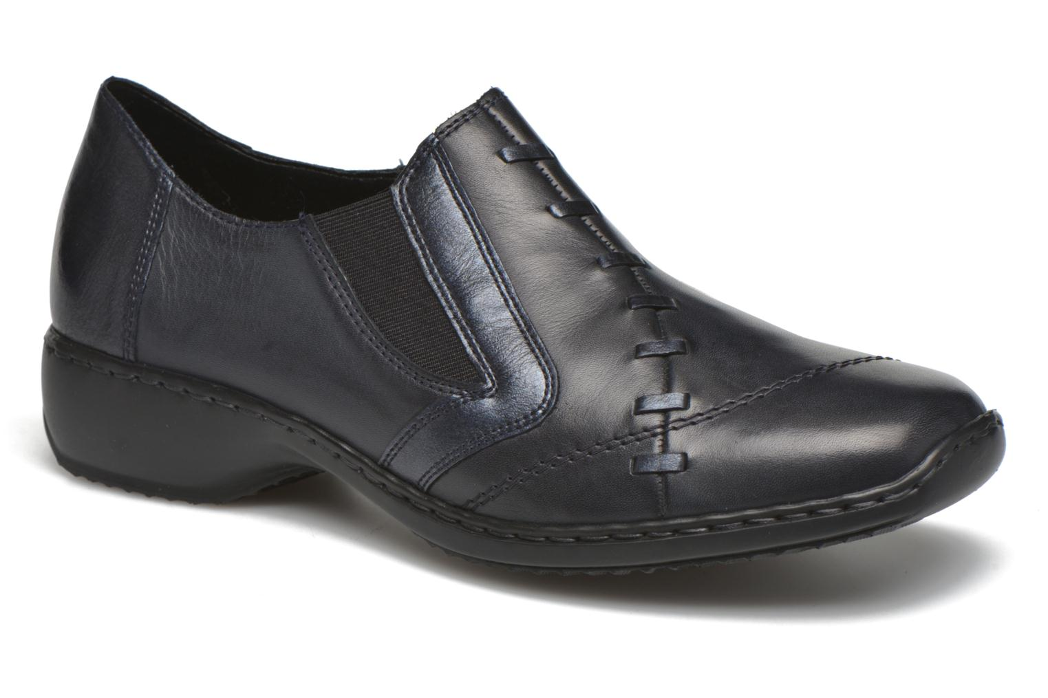 Loafers Rieker Doro L3874 Blue detailed view/ Pair view