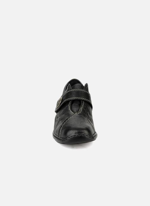 Mocassins Rieker Doro L3870 Noir vue portées chaussures