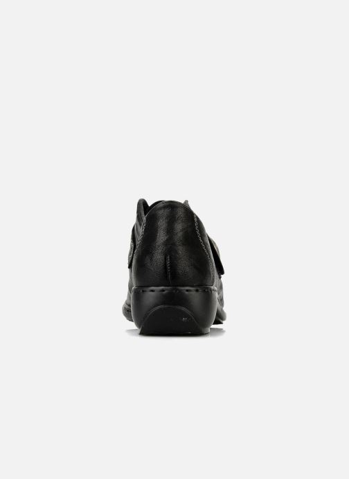 Rieker Doro L3870 (schwarz) Slipper bei (72506)