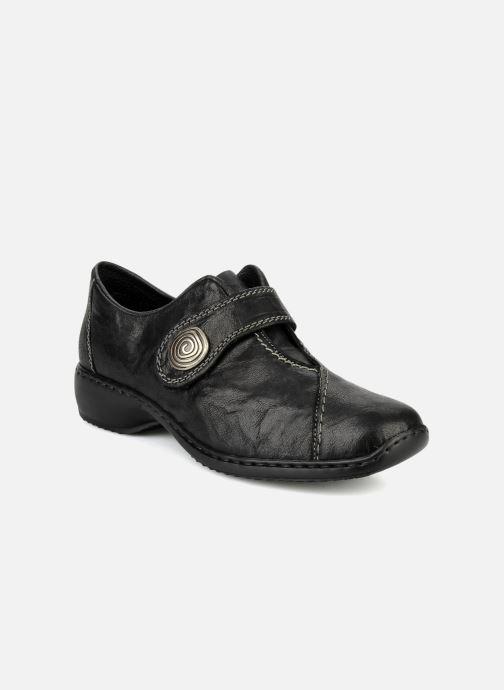 Loafers Rieker Doro L3870 Sort detaljeret billede af skoene