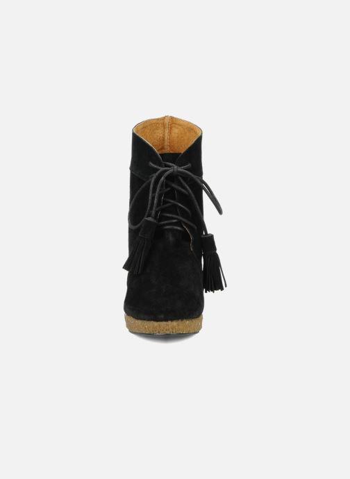 Boots en enkellaarsjes Friis & company Belinda Zwart model