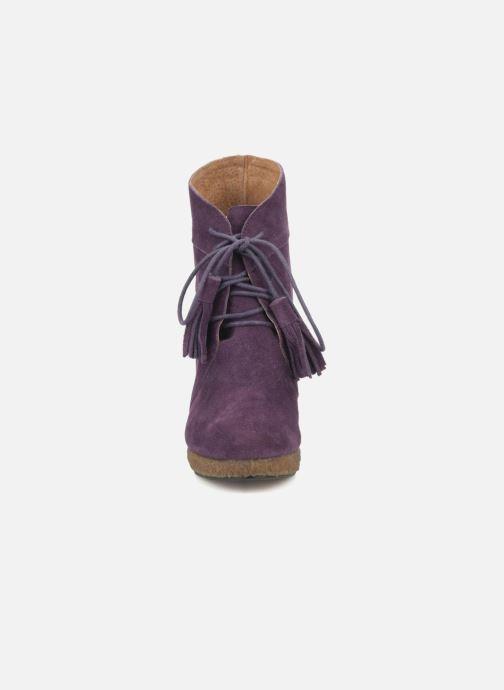 Boots en enkellaarsjes Friis & company Belinda Paars model