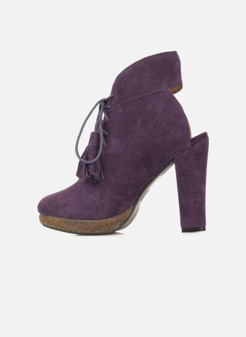 Boots en enkellaarsjes Friis & company Belinda Paars voorkant