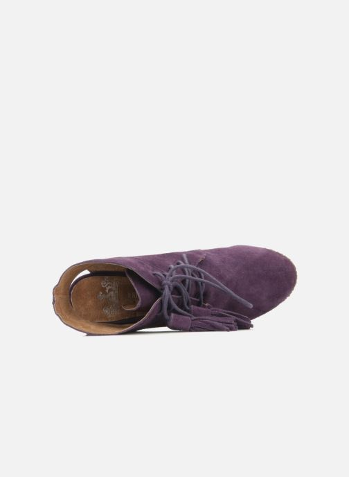 Boots en enkellaarsjes Friis & company Belinda Paars links