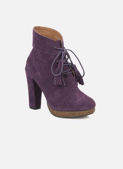 Boots en enkellaarsjes Friis & company Belinda Paars detail