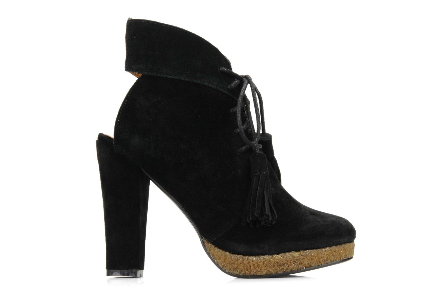 Ankle boots Friis & company Belinda Black back view