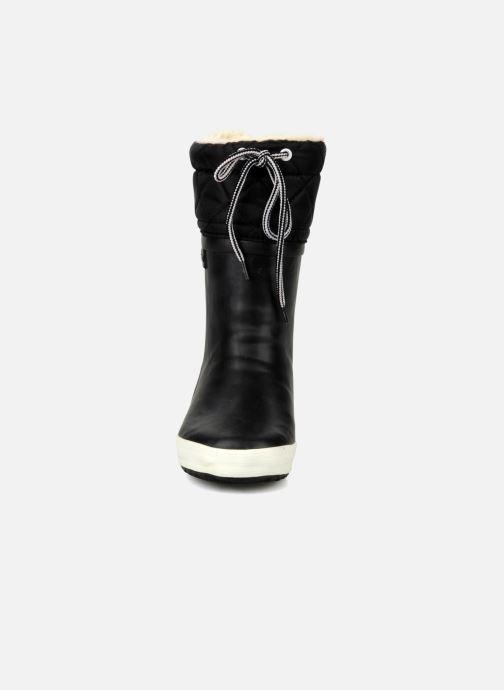 Bottes Aigle Giboulée Noir vue portées chaussures