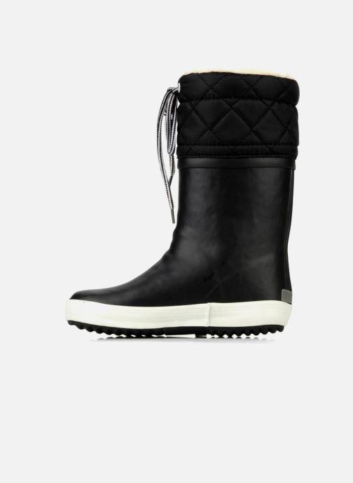 Boots & wellies Aigle Giboulée Black front view