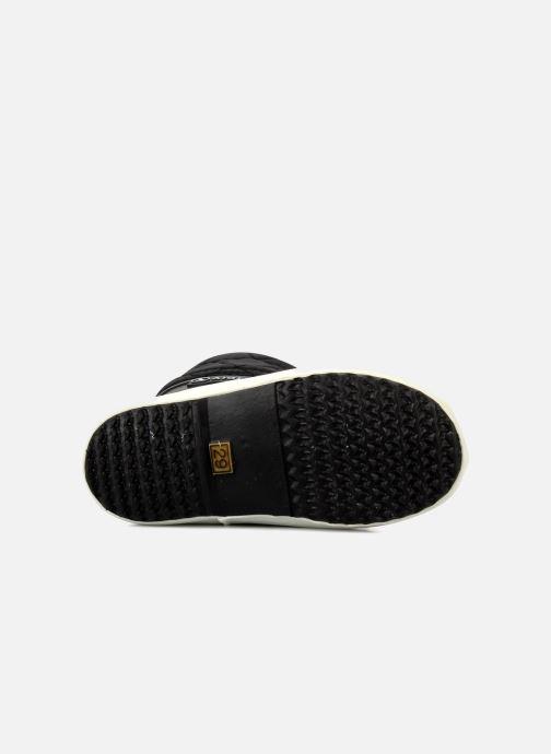 Stiefel Aigle Giboulée schwarz ansicht von oben