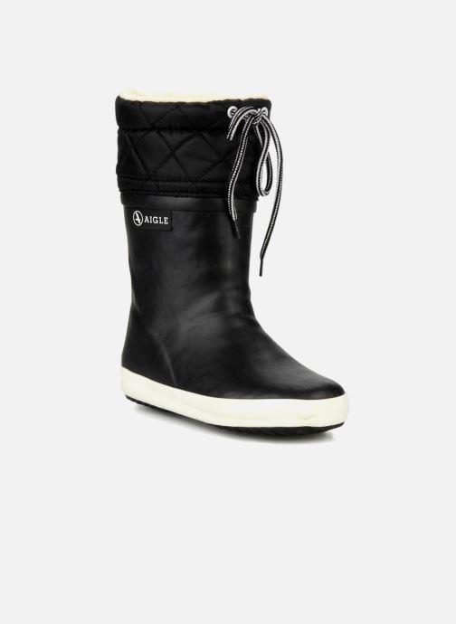 Boots & wellies Aigle Giboulée Black detailed view/ Pair view