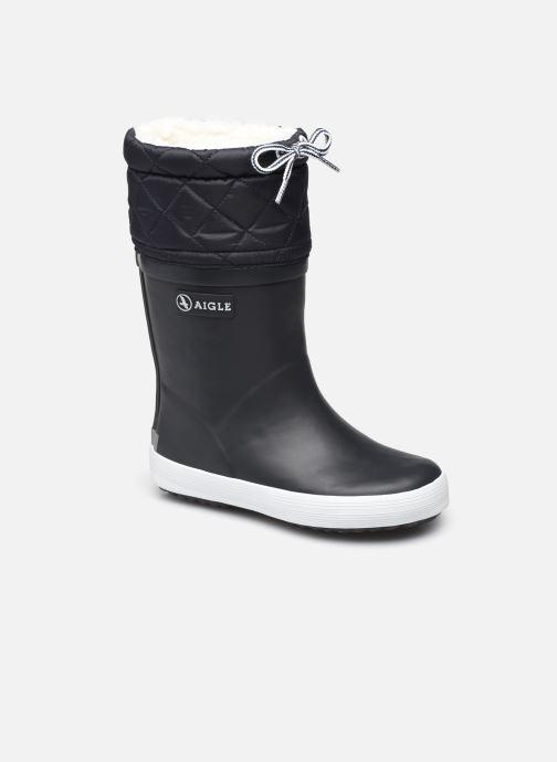 Støvler & gummistøvler Aigle Giboulée Blå detaljeret billede af skoene