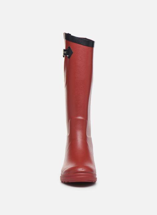 Bottes Aigle Aiglentine Bordeaux vue portées chaussures