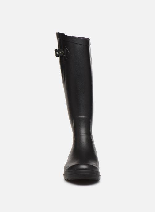 Boots & wellies Aigle Aiglentine Black model view