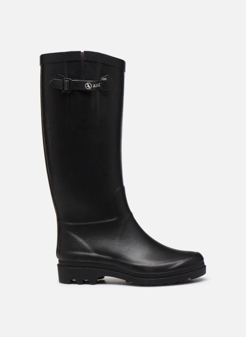 Boots & wellies Aigle Aiglentine Black back view