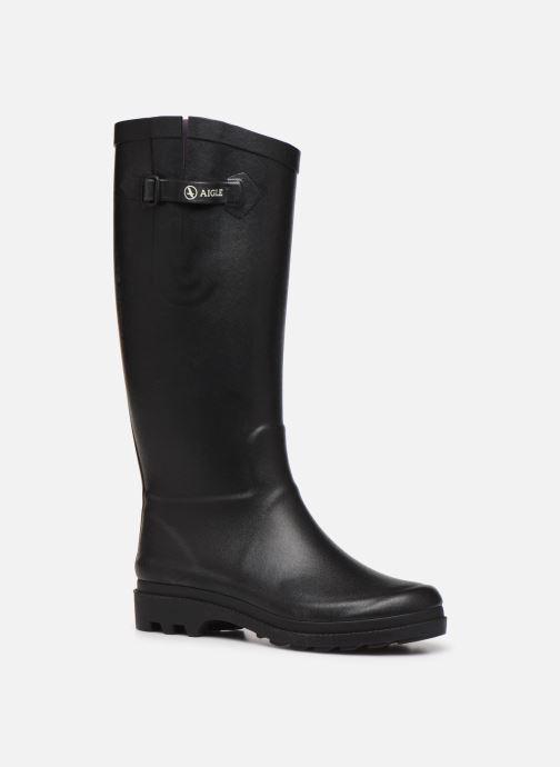 Boots & wellies Aigle Aiglentine Black detailed view/ Pair view