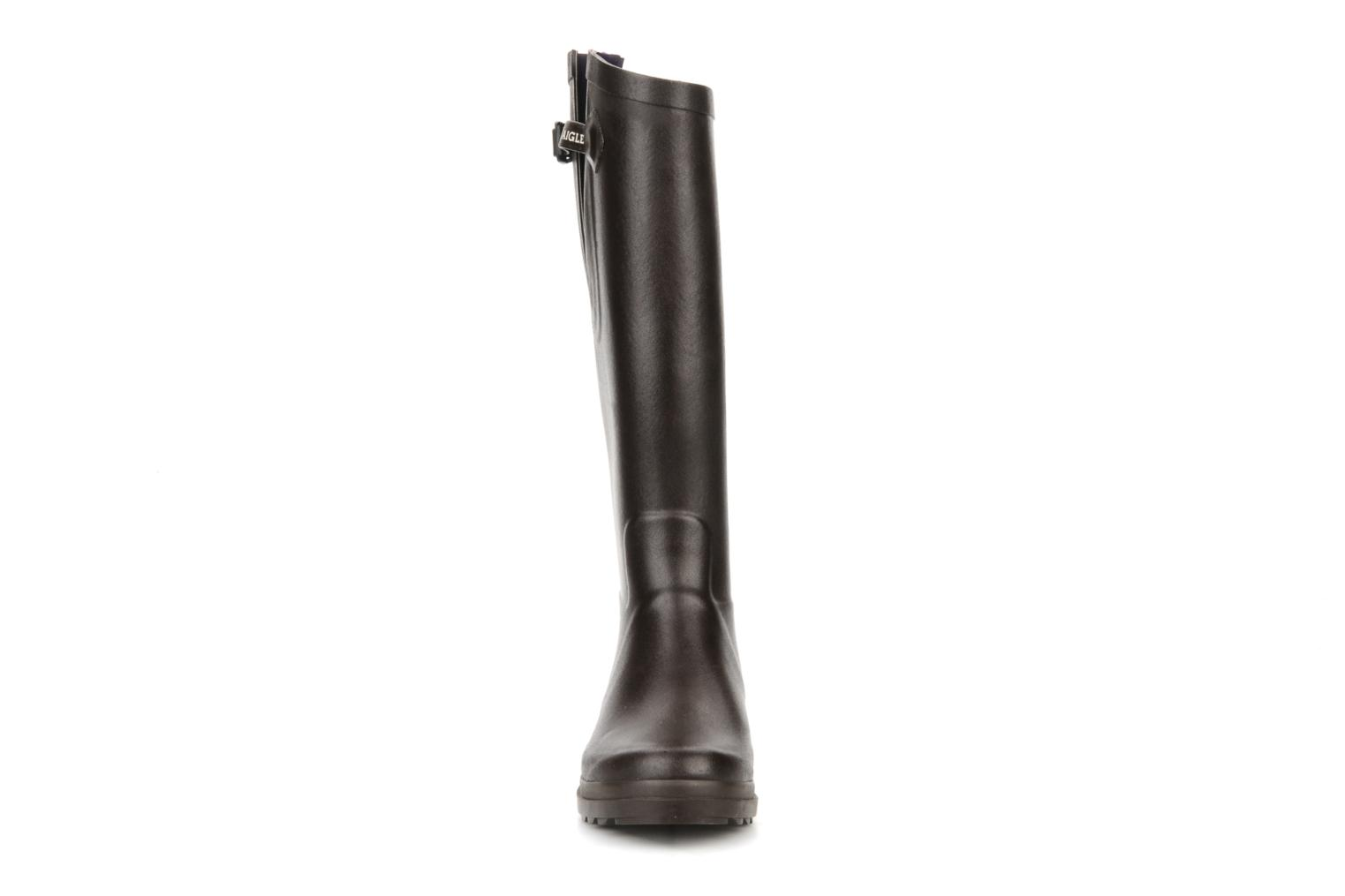 Boots & wellies Aigle Aiglentine Brown model view