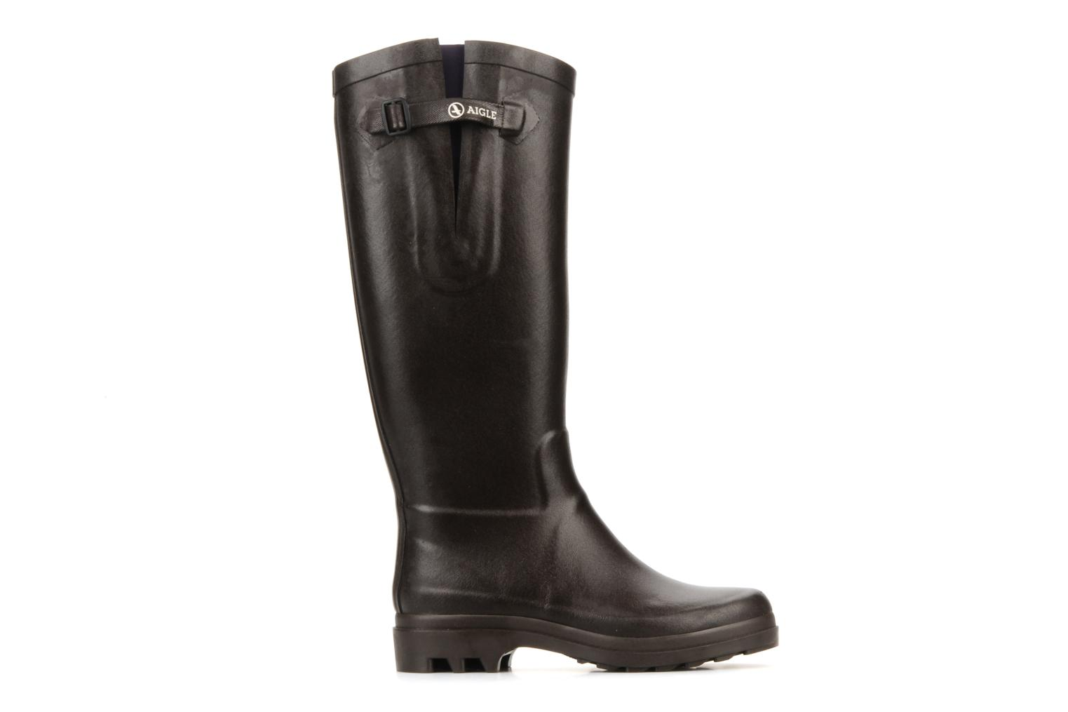 Boots & wellies Aigle Aiglentine Brown back view