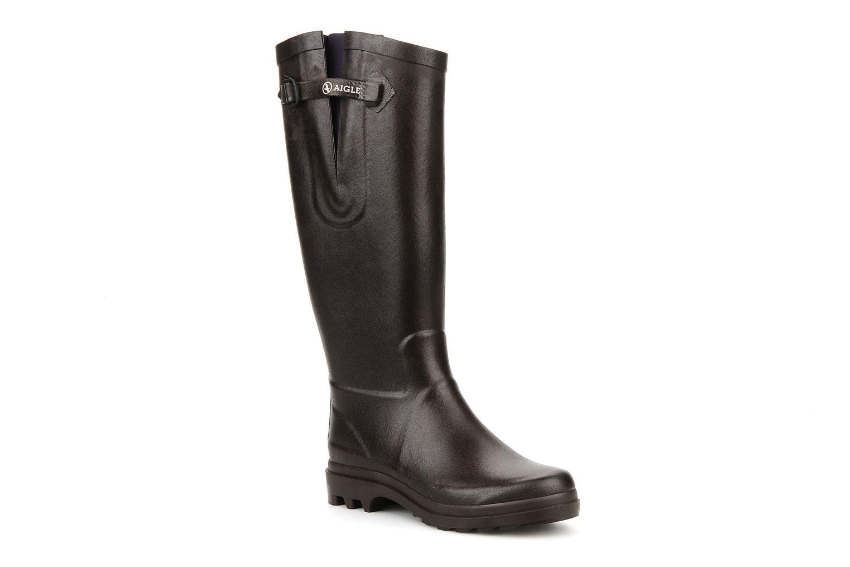Boots & wellies Aigle Aiglentine Brown detailed view/ Pair view