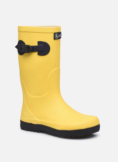 Stiefel Aigle Woody pop 2 gelb detaillierte ansicht/modell