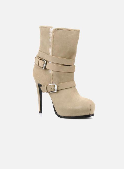 Bottines et boots Pour La Victoire Lizzie Beige vue détail/paire