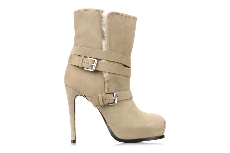 Bottines et boots Pour La Victoire Lizzie Beige vue derrière