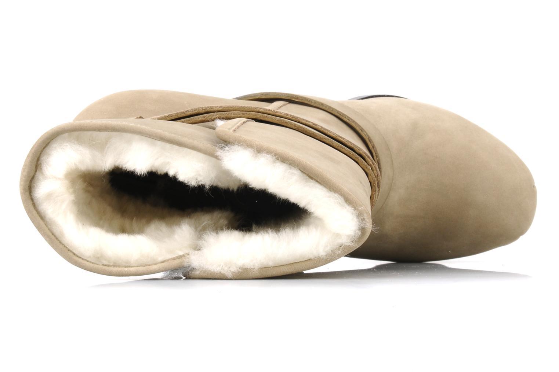 Bottines et boots Pour La Victoire Lizzie Beige vue gauche