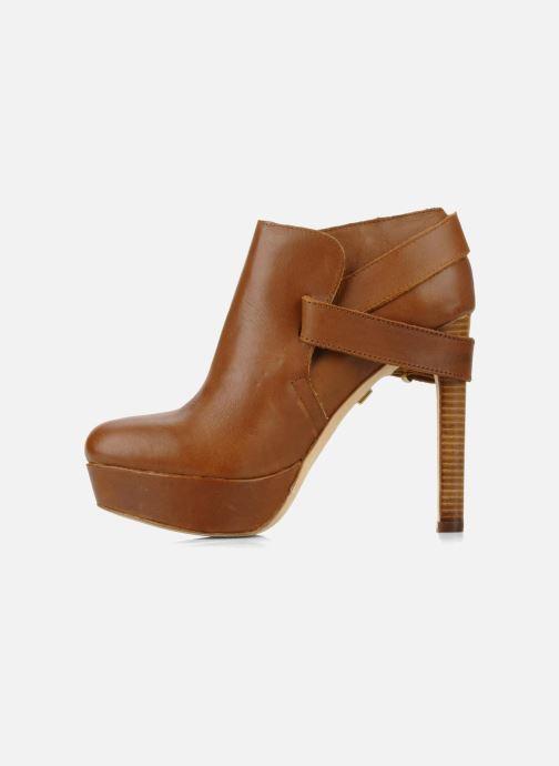 Bottines et boots Pour La Victoire Amael Marron vue face