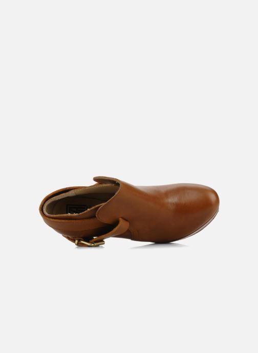 Bottines et boots Pour La Victoire Amael Marron vue gauche