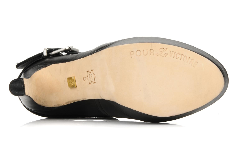 Boots en enkellaarsjes Pour La Victoire Amael Zwart boven