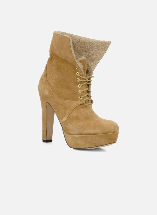 Bottines et boots Pour La Victoire Aileen Beige vue 3/4