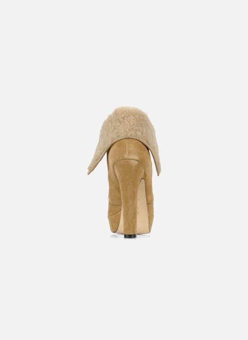 Bottines et boots Pour La Victoire Aileen Beige vue droite