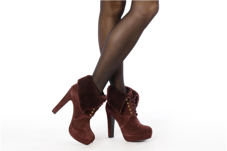 Bottines et boots Pour La Victoire Aileen Bordeaux vue bas / vue portée sac