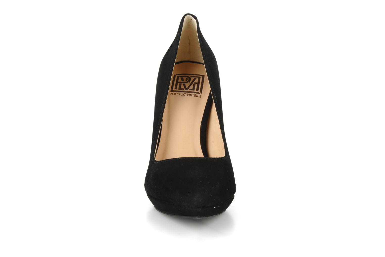 Escarpins Pour La Victoire Daina Noir vue portées chaussures