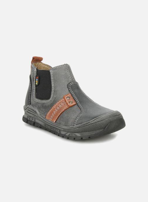 Ankelstøvler Bopy Beta Sort detaljeret billede af skoene