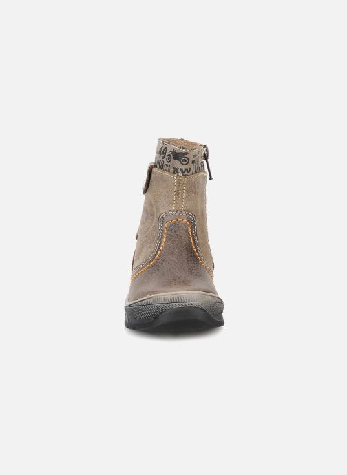Ankle boots Bopy Botar Brown model view