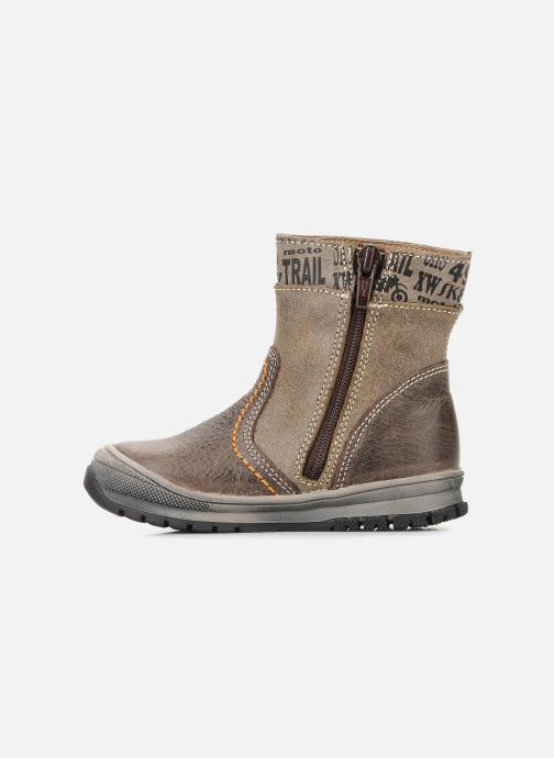 Ankle boots Bopy Botar Brown front view