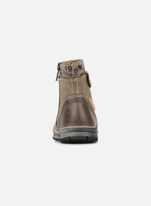 Ankle boots Bopy Botar Brown view from the right
