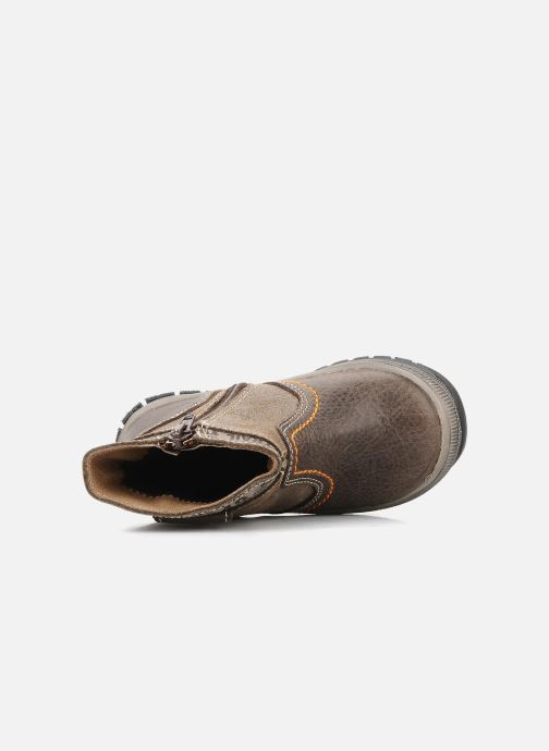 Ankle boots Bopy Botar Brown view from the left