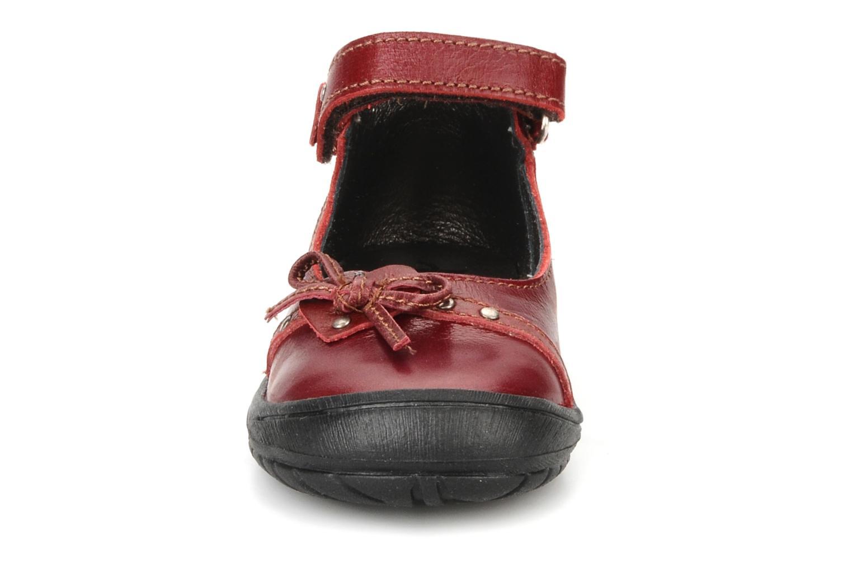Ballerines Bopy Birkin Bordeaux vue portées chaussures