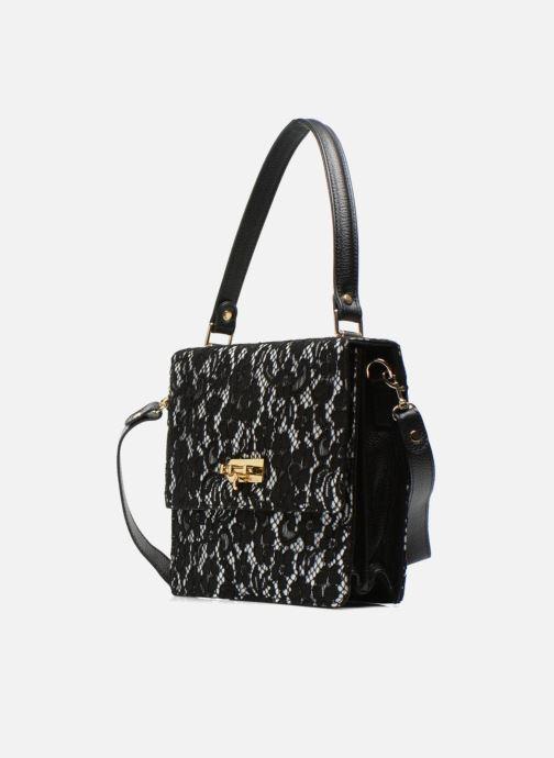 Handtaschen MySuelly Louise Emma schwarz schuhe getragen
