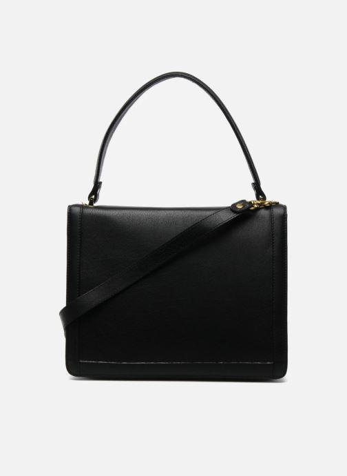 Handtaschen MySuelly Louise Emma schwarz ansicht von vorne