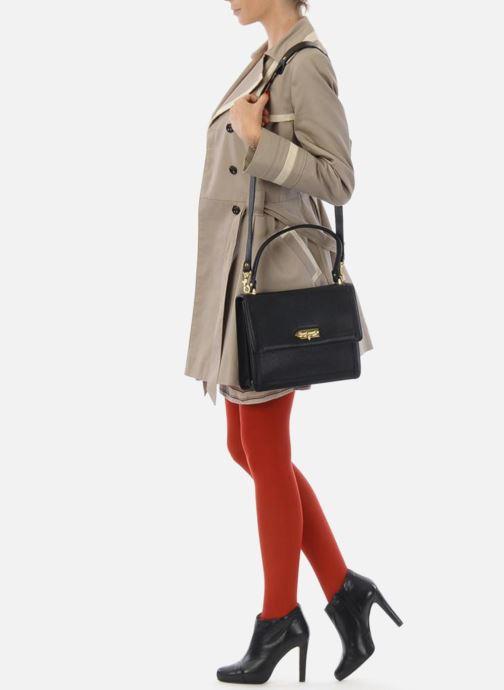 Handtaschen MySuelly Louise Emma schwarz ansicht von oben
