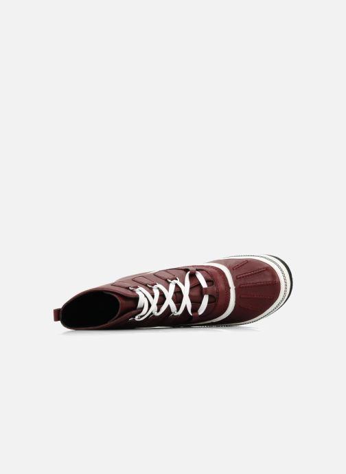 Bottines et boots Kesslord Dawson Bordeaux vue gauche