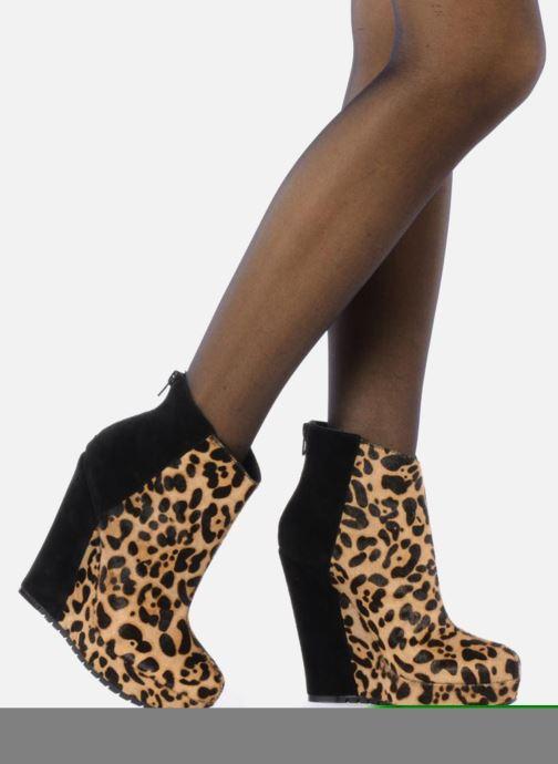 Bottines et boots Kelsi Dagger Huette Multicolore vue bas / vue portée sac