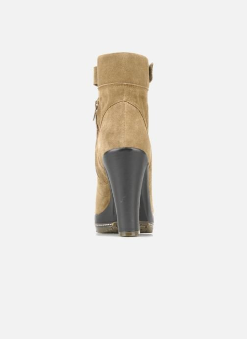 Ankle boots Kelsi Dagger Rane Beige view from the right