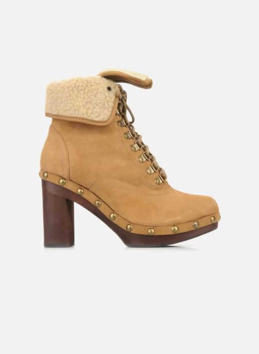 Bottines et boots No Name Mikonos boots fur Beige vue gauche
