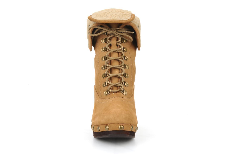 Bottines et boots No Name Mikonos boots fur Beige vue face