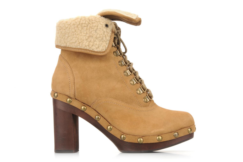 Bottines et boots No Name Mikonos boots fur Beige vue gauche